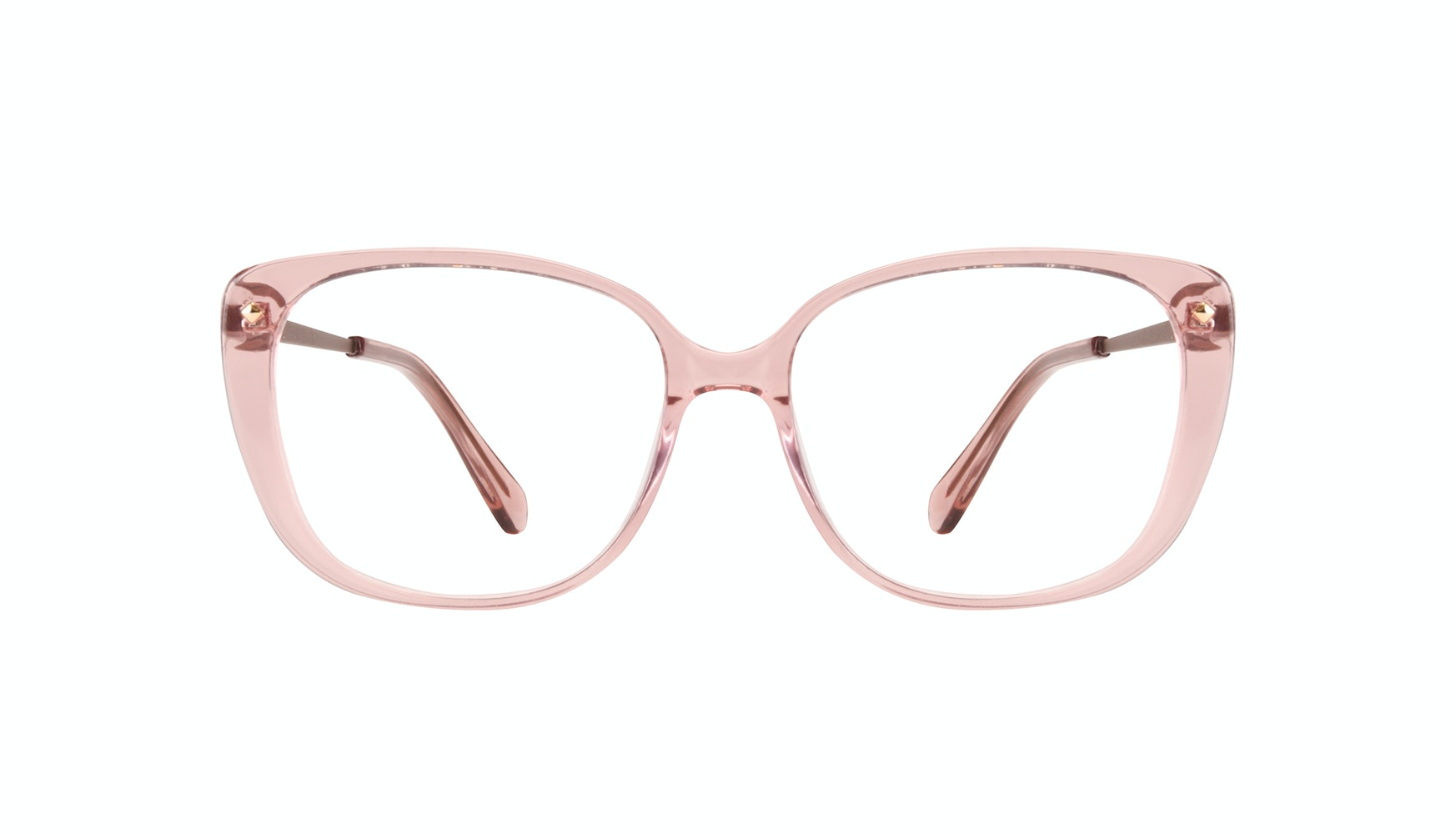 Affordable Fashion Glasses Square Eyeglasses Women Japonisme rose