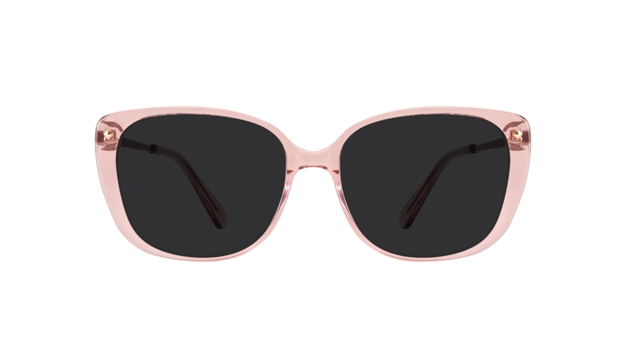 Affordable Fashion Glasses Square Sunglasses Women Japonisme rose Front