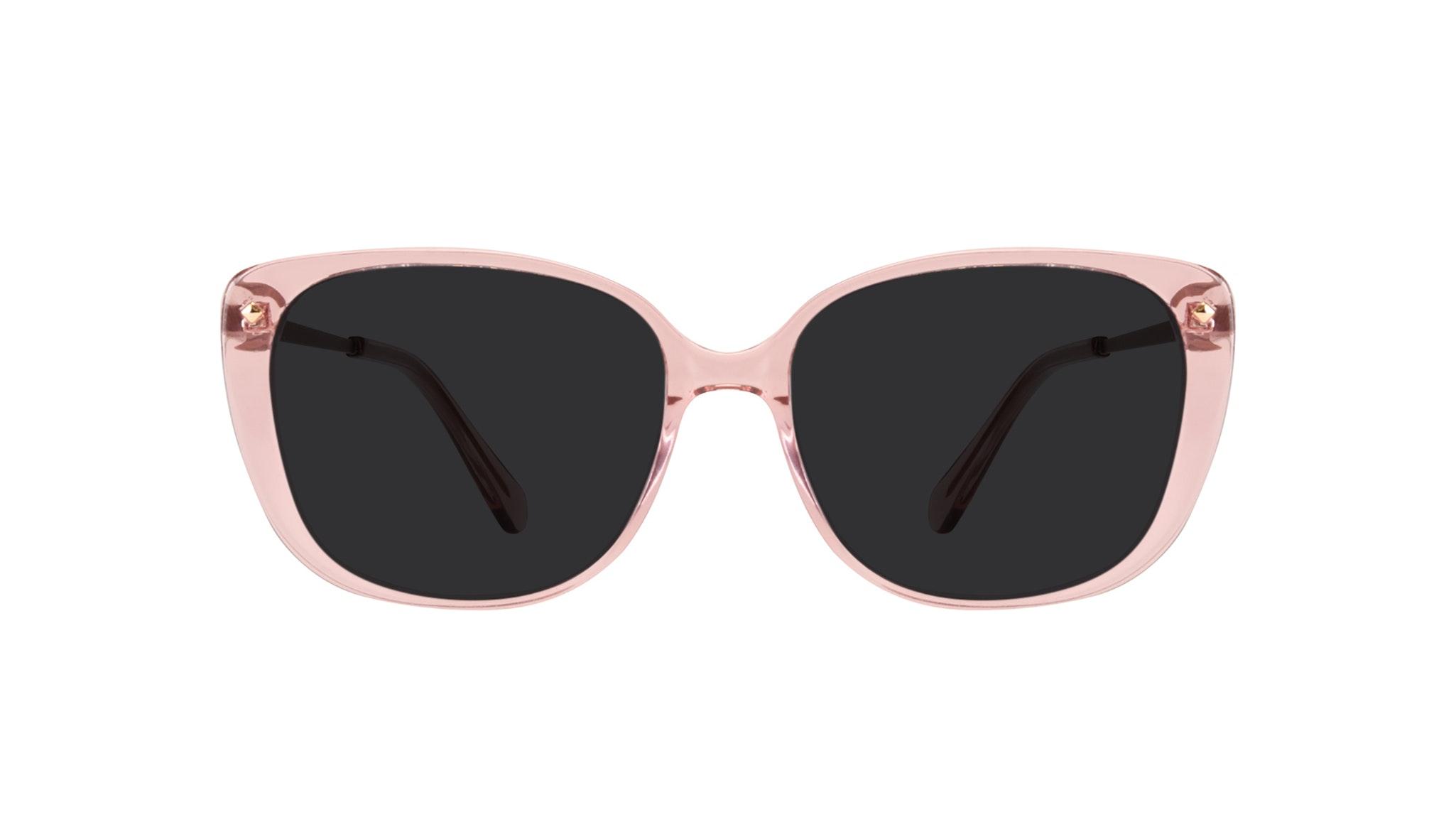Affordable Fashion Glasses Square Sunglasses Women Japonisme rose