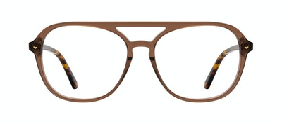 Affordable Fashion Glasses Aviator Eyeglasses Women Jerry Terra Front