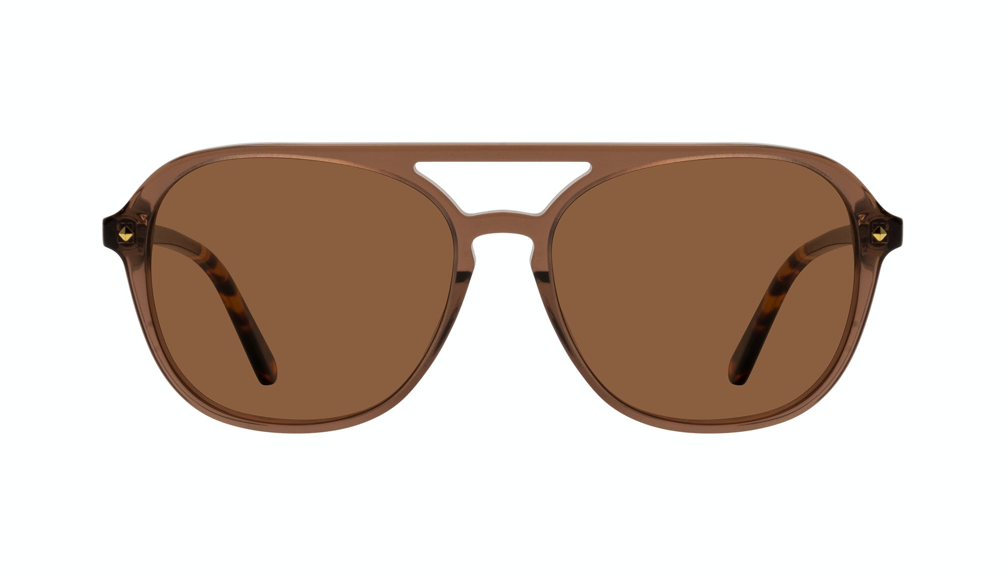 Affordable Fashion Glasses Aviator Sunglasses Women Jerry Terra Front