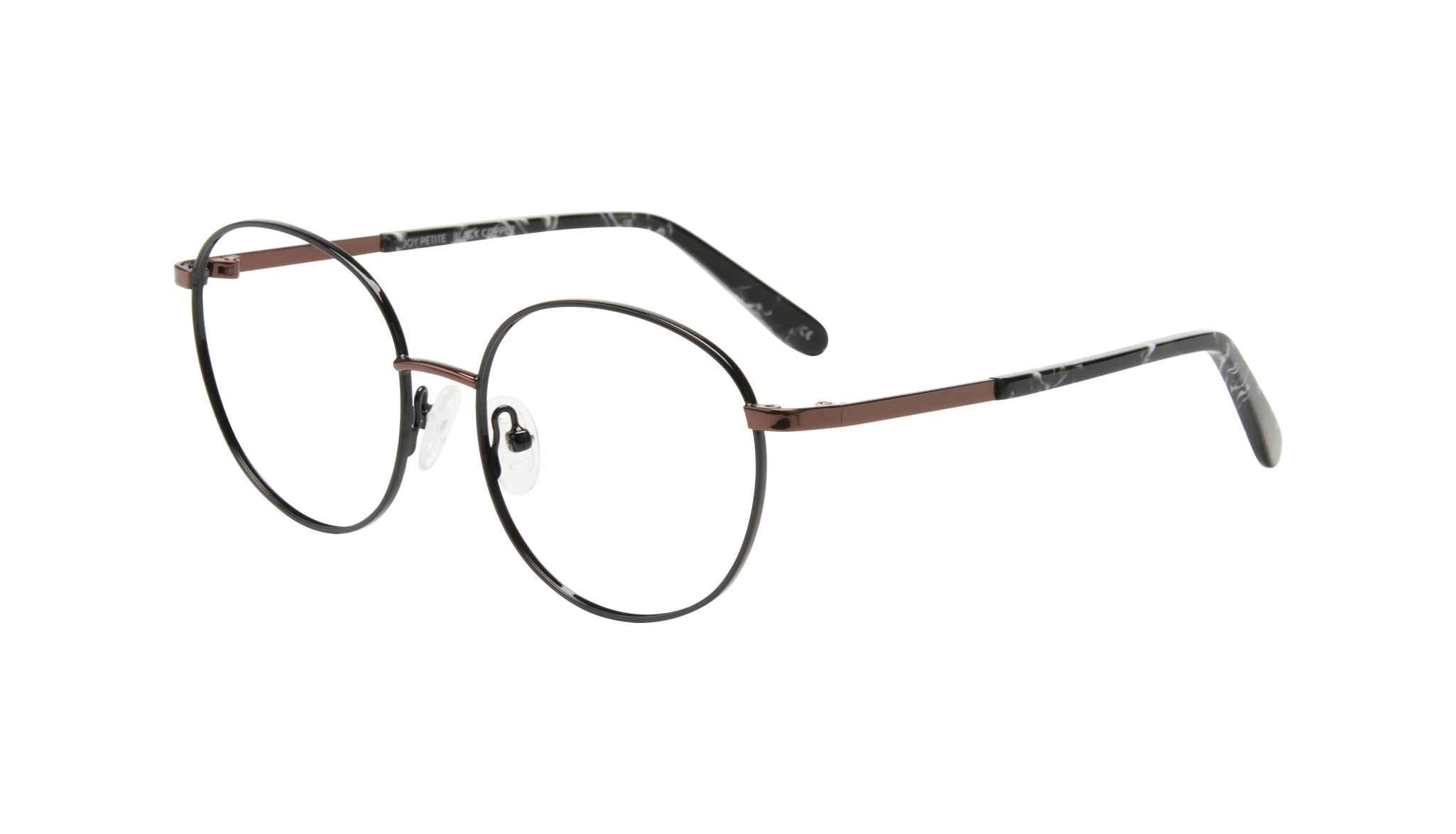 02ed184b1a8f Women eyeglasses joy petite in black copper bonlook jpg 1600x707 Bonlook womens  eyeglasses women petite frame