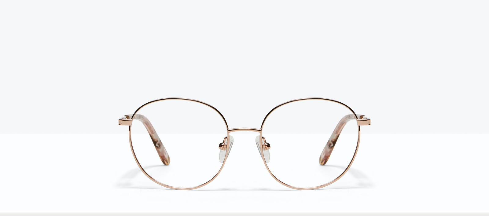 089b8ff8b6 Affordable Fashion Glasses Round Eyeglasses Women Joy Petite Rose Metal  Front
