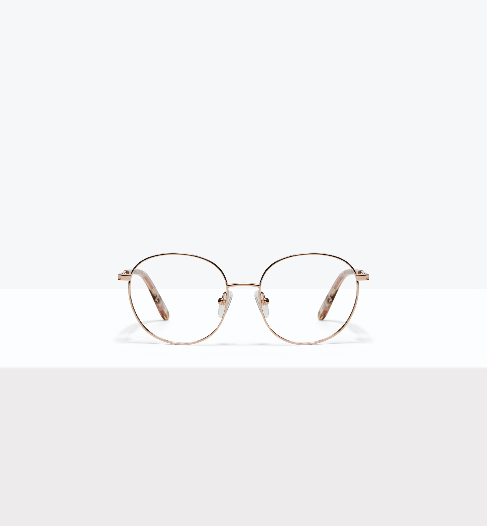 bc45415b1eb Affordable Fashion Glasses Round Eyeglasses Women Joy Petite Rose Metal