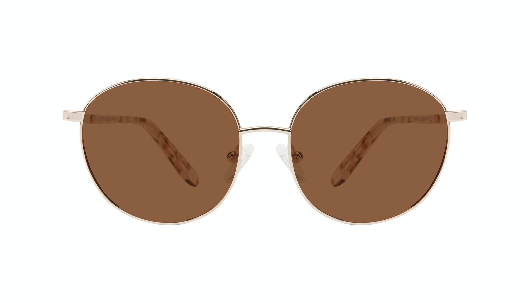 Affordable Fashion Glasses Round Sunglasses Women Joy Petite Rose Metal Front