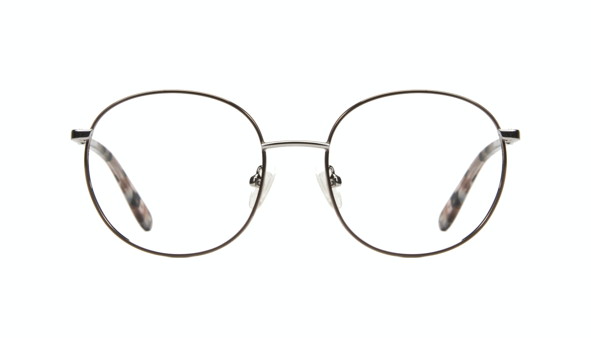 Affordable Fashion Glasses Round Eyeglasses Women Joy Rose Metal Front