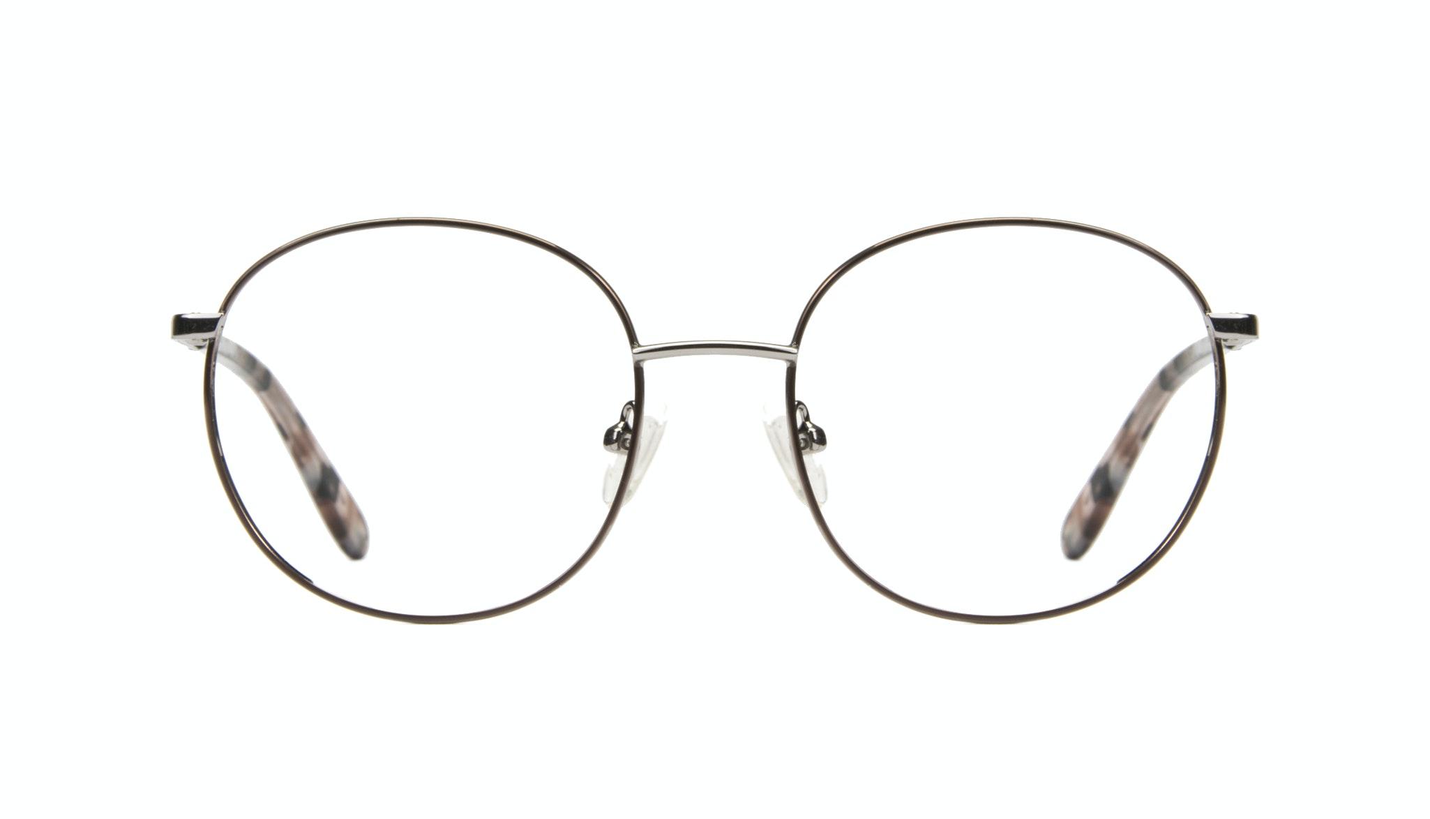 Affordable Fashion Glasses Round Eyeglasses Women Joy Rose Metal Front