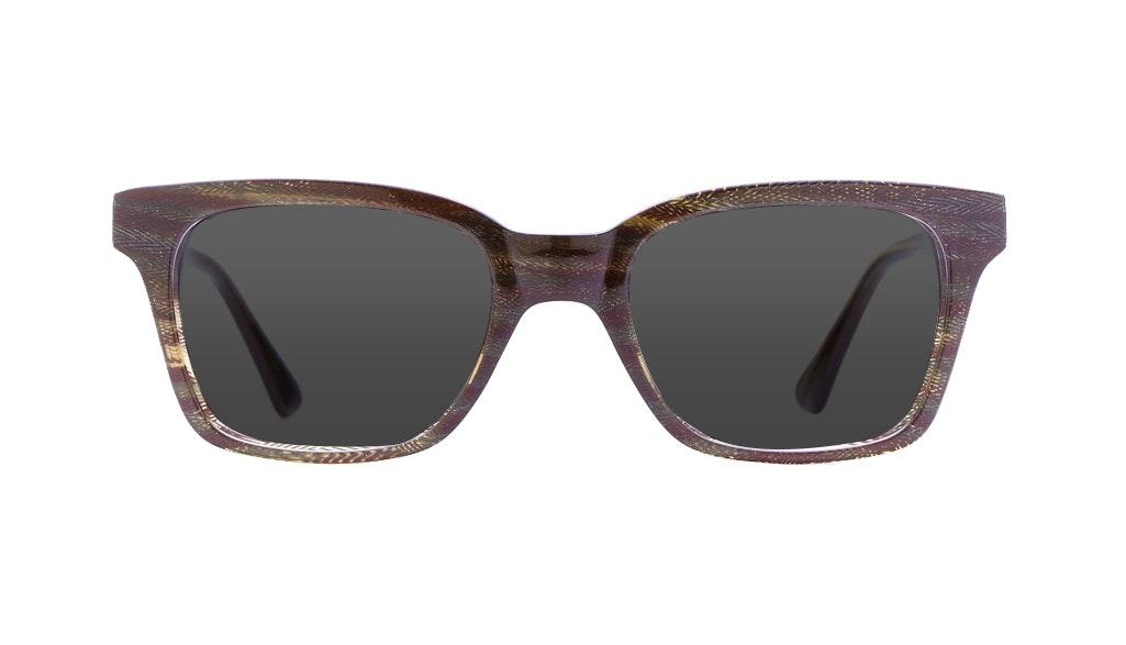 Affordable Fashion Glasses Square Sunglasses Women Jungle Chic Autumn Chevron Front
