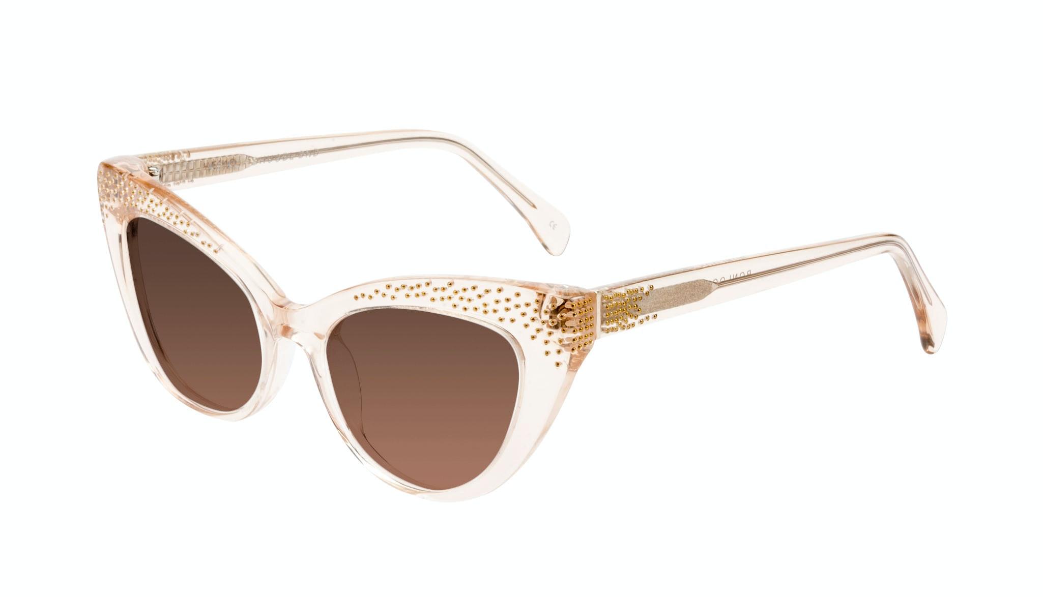 Affordable Fashion Glasses Cat Eye Daring Cateye Sunglasses Women Keiko Shug Blond Tilt