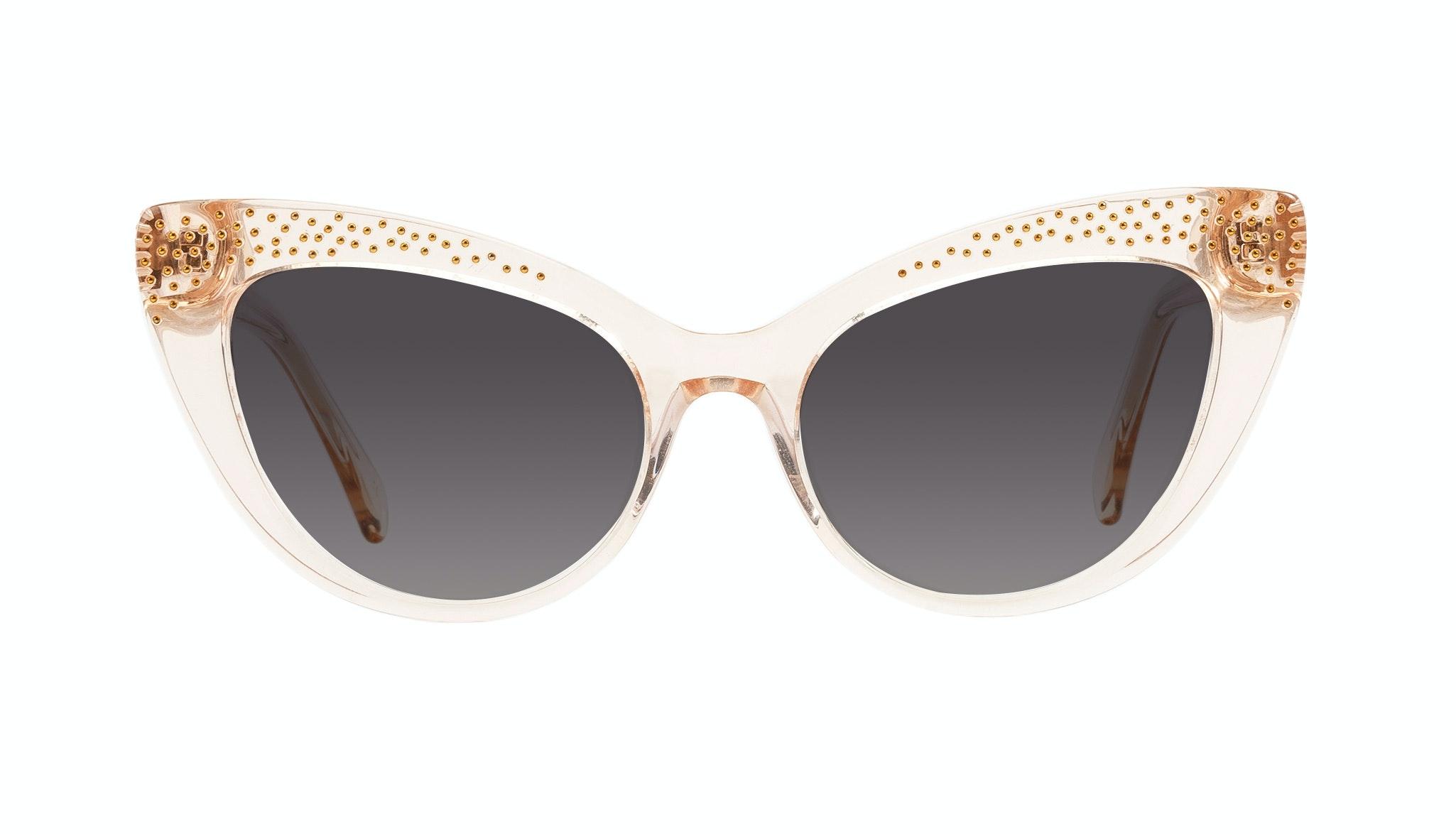 Affordable Fashion Glasses Cat Eye Sunglasses Women Keiko Shug Blond