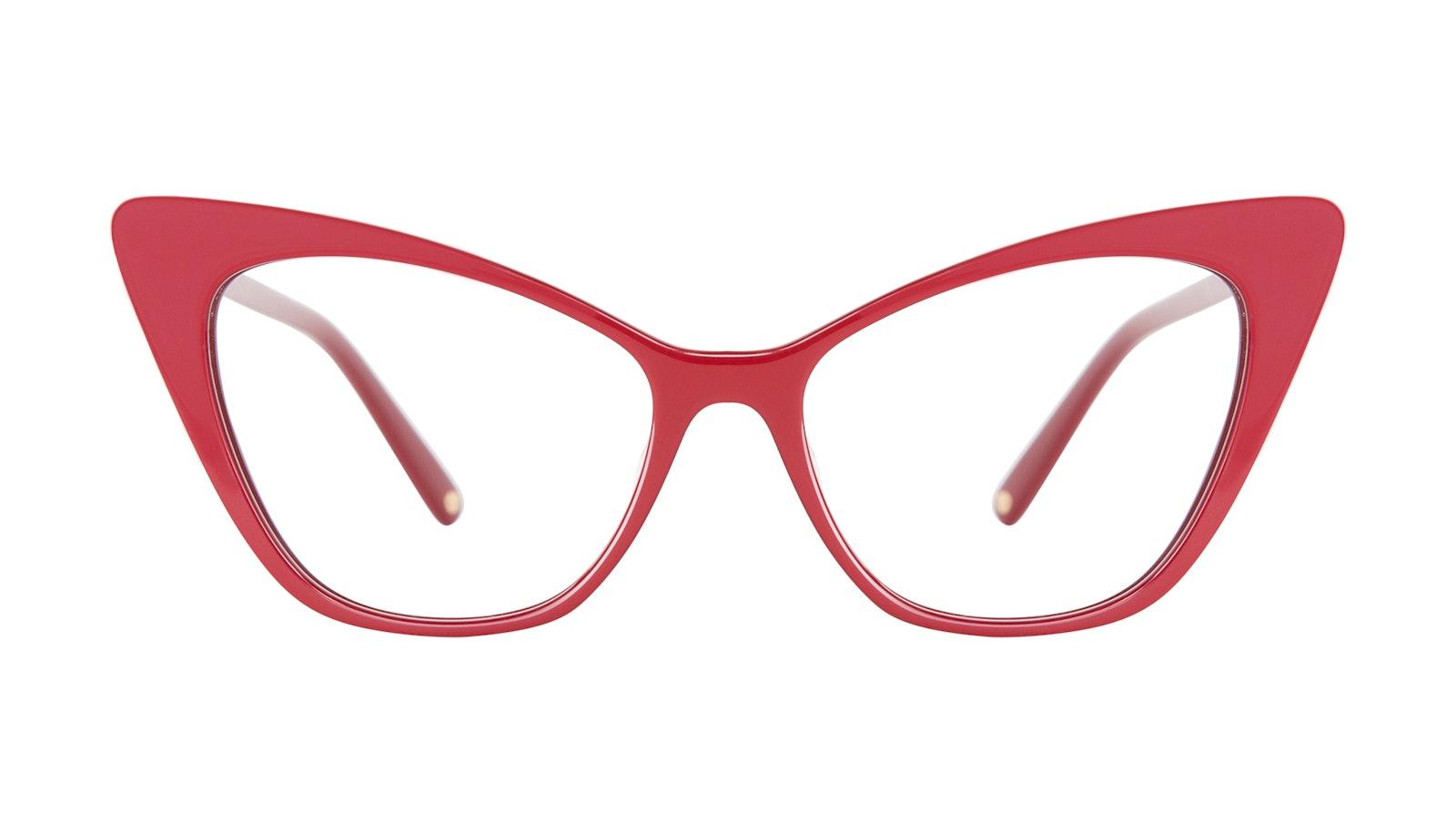 Lunettes tendance Oeil de chat Lunettes de vue Femmes Keiko Lynn Ryder Red