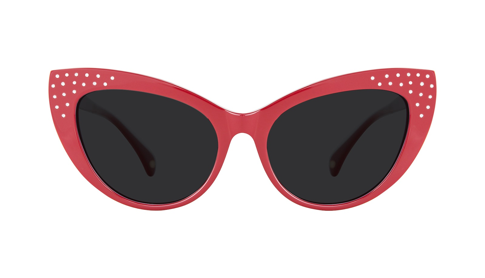 Affordable Fashion Glasses Cat Eye Daring Cateye Sunglasses Women Keiko Amanda Red