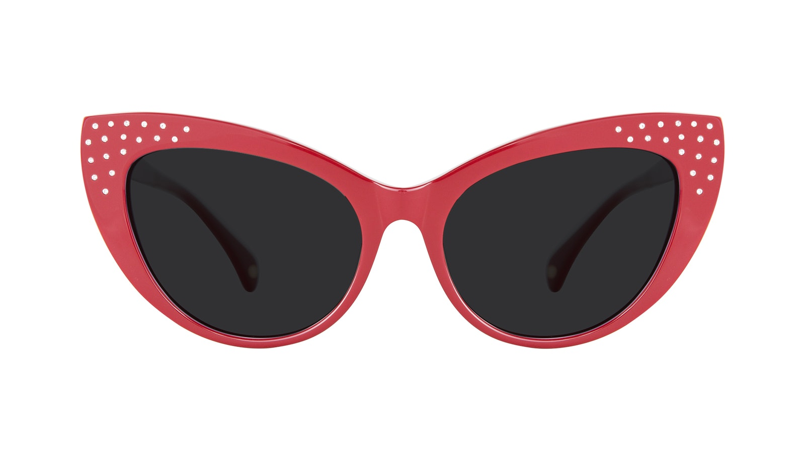 Affordable Fashion Glasses Cat Eye Sunglasses Women Keiko Amanda Red