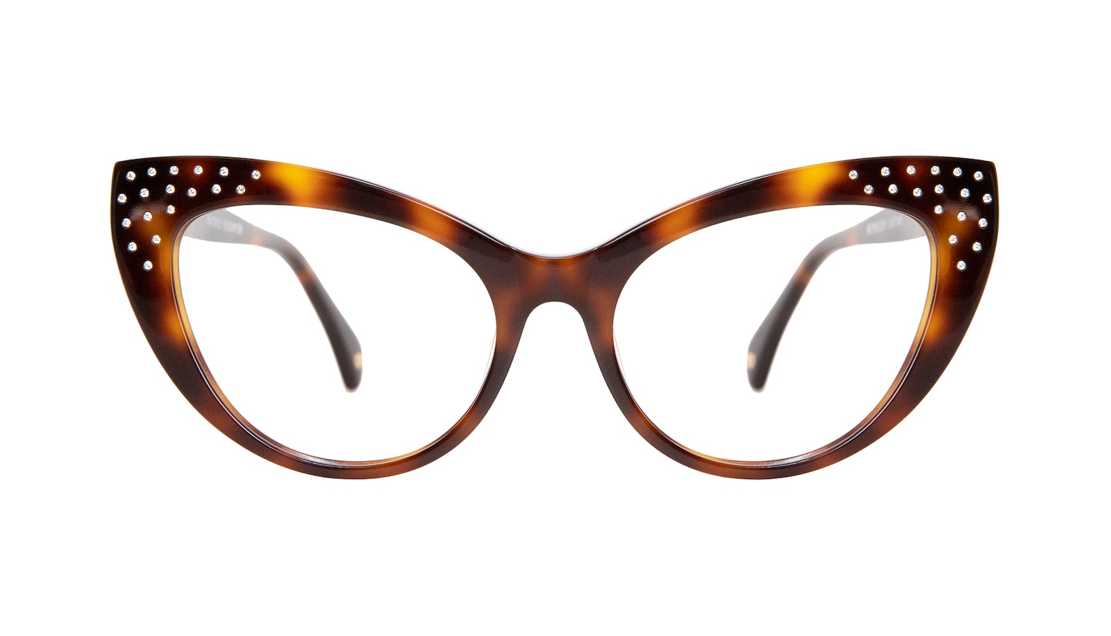 Affordable Fashion Glasses Cat Eye Daring Cateye Eyeglasses Women Keiko Nicole Brunette