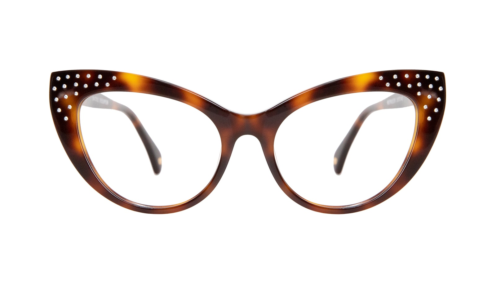 Affordable Fashion Glasses Cat Eye Eyeglasses Women Keiko M Nicole Brunette
