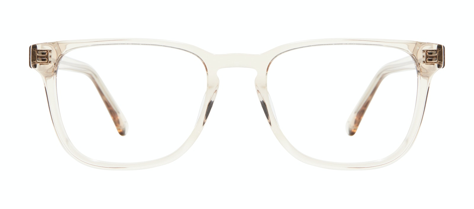 Affordable Fashion Glasses Square Eyeglasses Men Kim Clay Front
