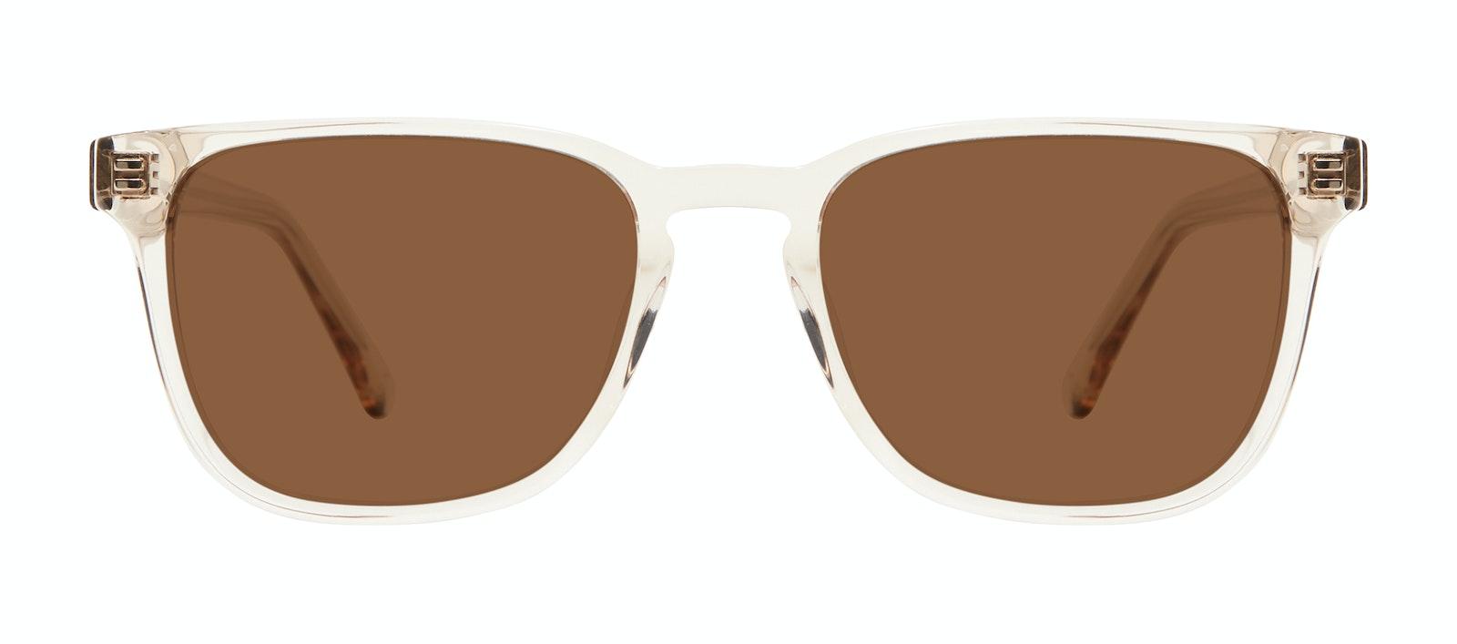 Affordable Fashion Glasses Square Sunglasses Men Kim Clay Front