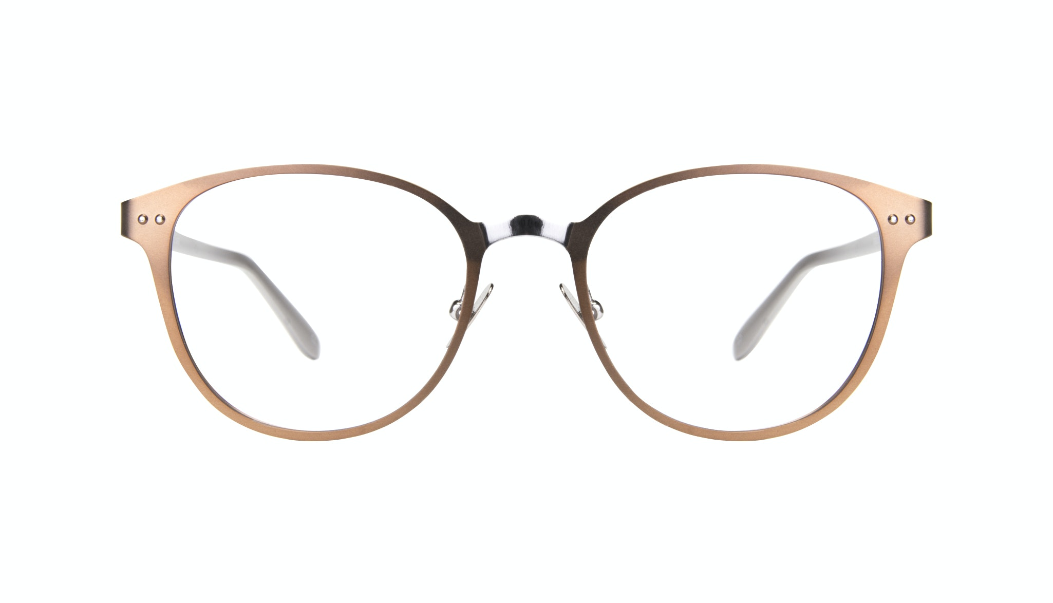 Affordable Fashion Glasses Rectangle Eyeglasses Women Kind Hazel Silver