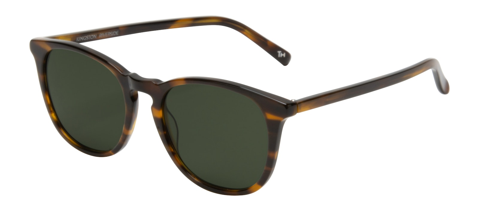 Affordable Fashion Glasses Round Sunglasses Men Kingston Riverside Tilt