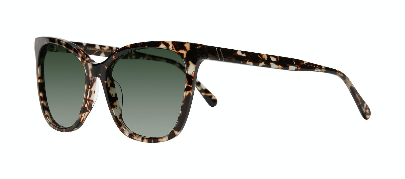 Affordable Fashion Glasses Cat Eye Sunglasses Women Klee M Sunset Tort Tilt