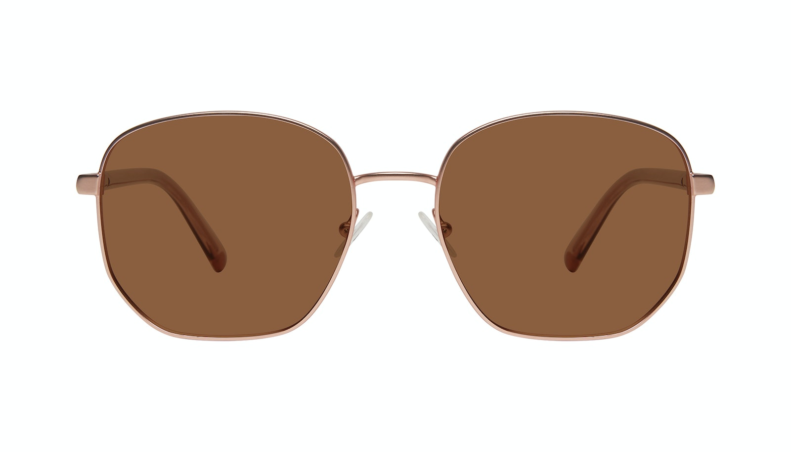 Affordable Fashion Glasses Round Sunglasses Women Laïka Rose Gold Matte