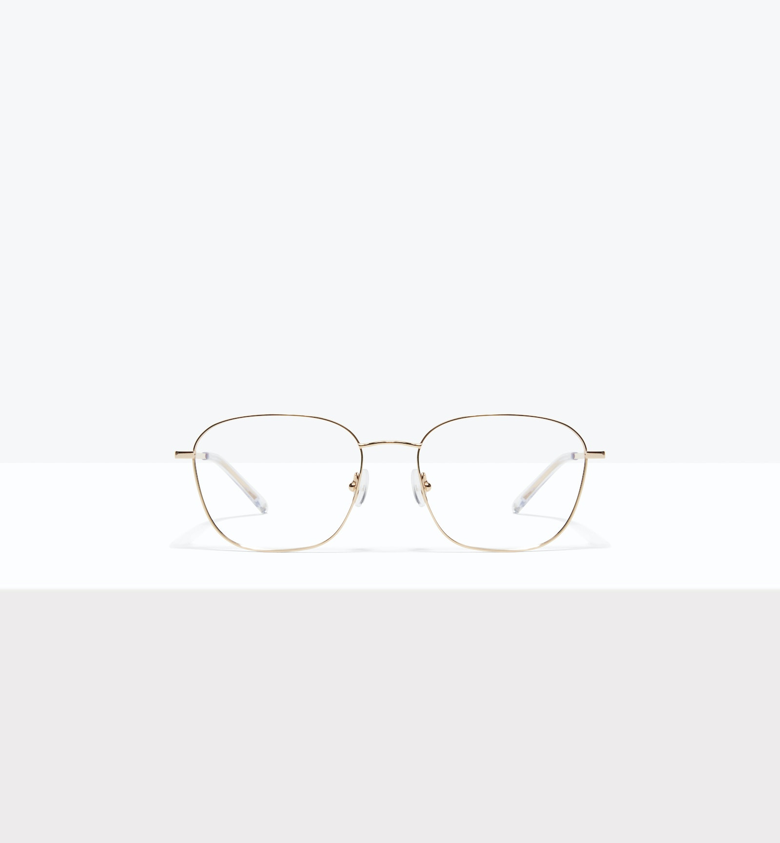 Affordable Fashion Glasses Square Eyeglasses Women Lane Gold