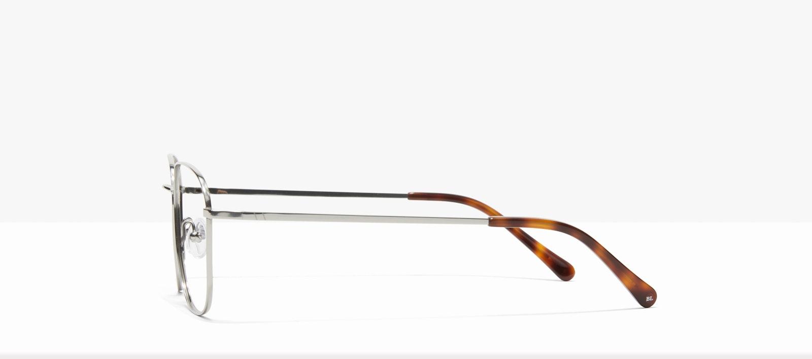 Affordable Fashion Glasses Square Eyeglasses Women Lane Platinum Side