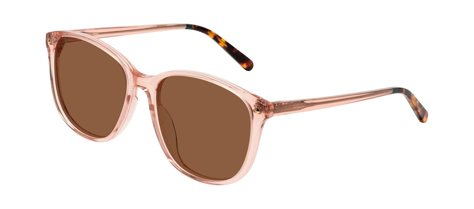 Affordable Fashion Glasses Square Sunglasses Women Lauren Peach Tilt