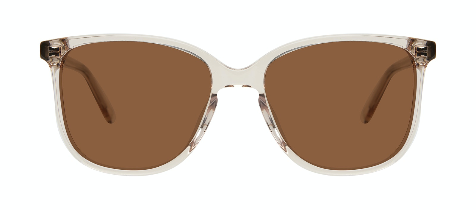 Affordable Fashion Glasses Square Sunglasses Women Lead Blond Front