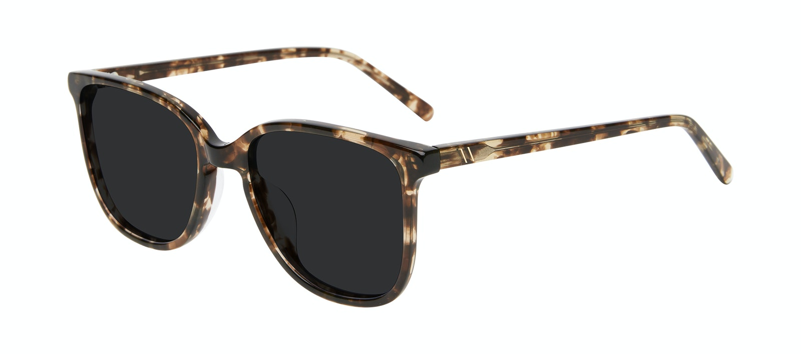 Lunettes tendance Carrée Lunettes de soleil Femmes Lead Leopard Incliné