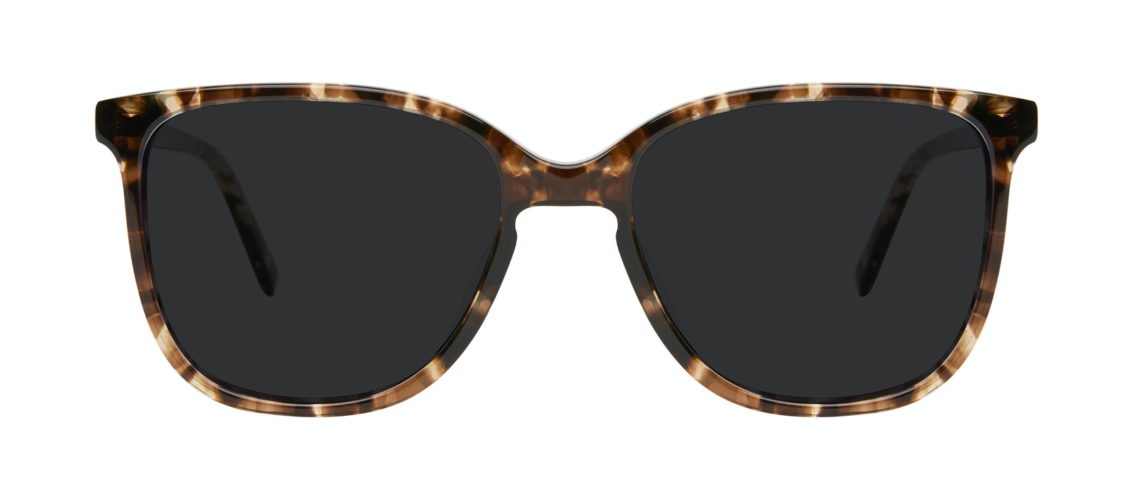 Affordable Fashion Glasses Square Sunglasses Women Lead Leopard Front