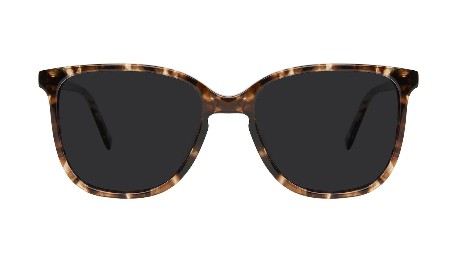 Affordable Fashion Glasses Square Sunglasses Women Lead Leopard
