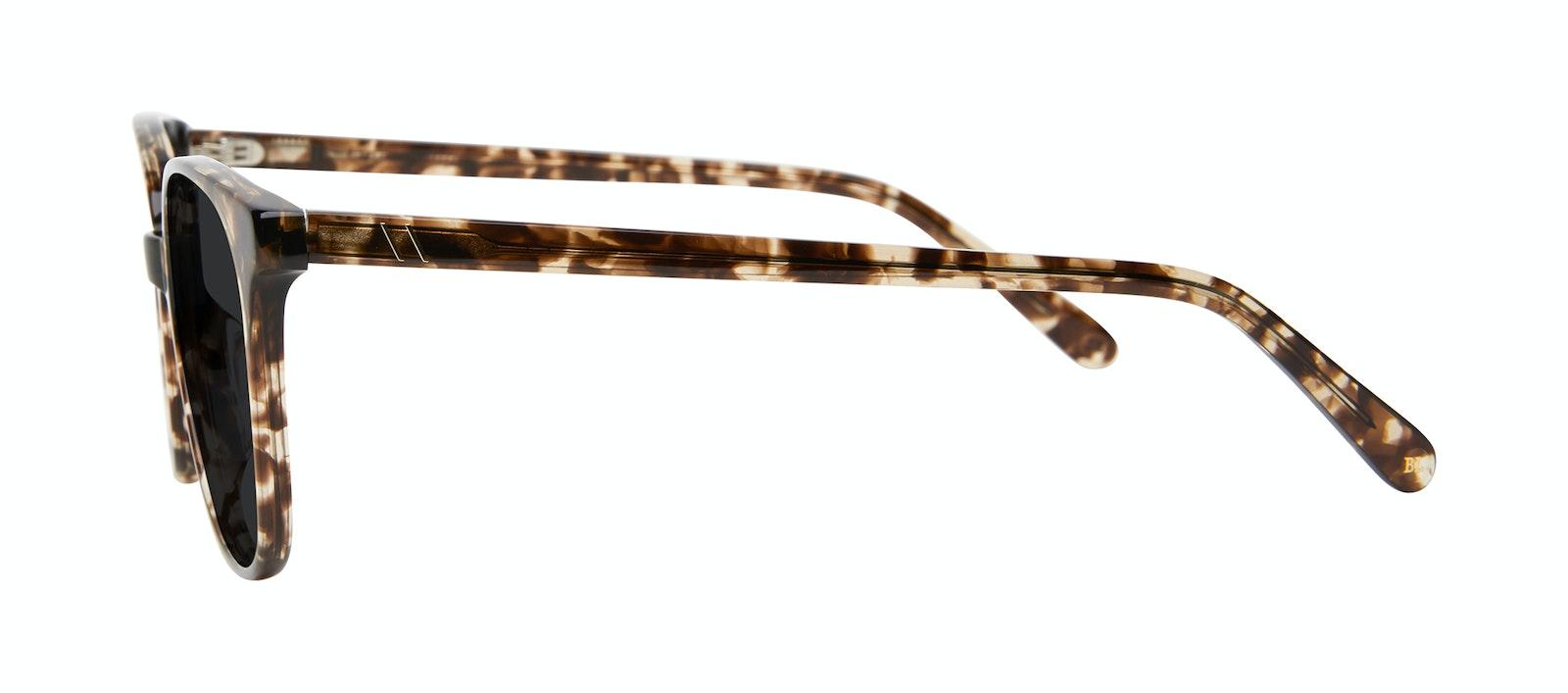 Lunettes tendance Carrée Lunettes de soleil Femmes Lead Leopard Profil