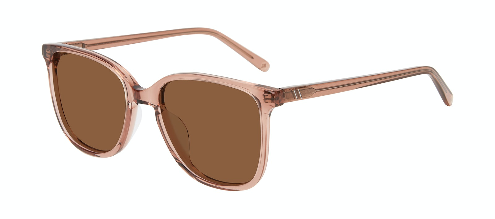 Affordable Fashion Glasses Square Sunglasses Women Lead Rose Tilt