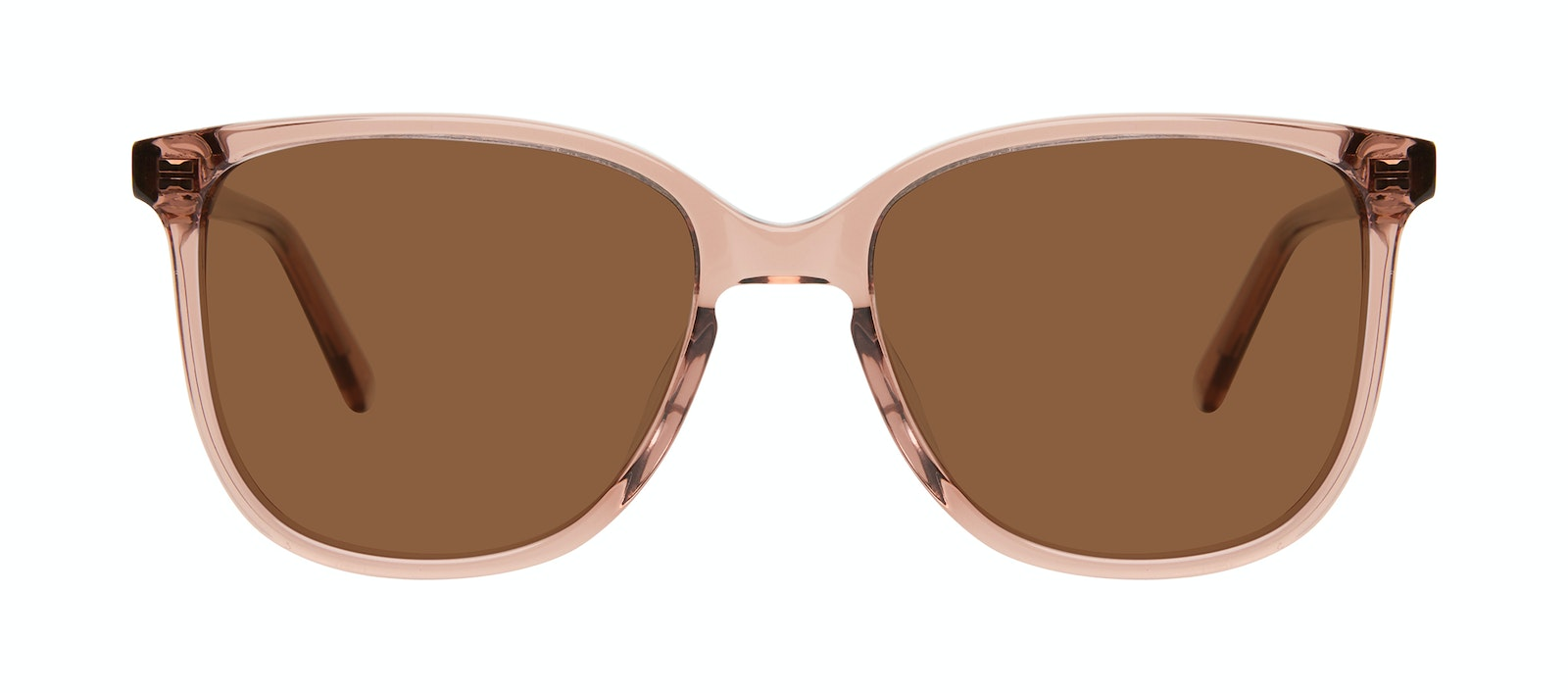 Affordable Fashion Glasses Square Sunglasses Women Lead Rose Front