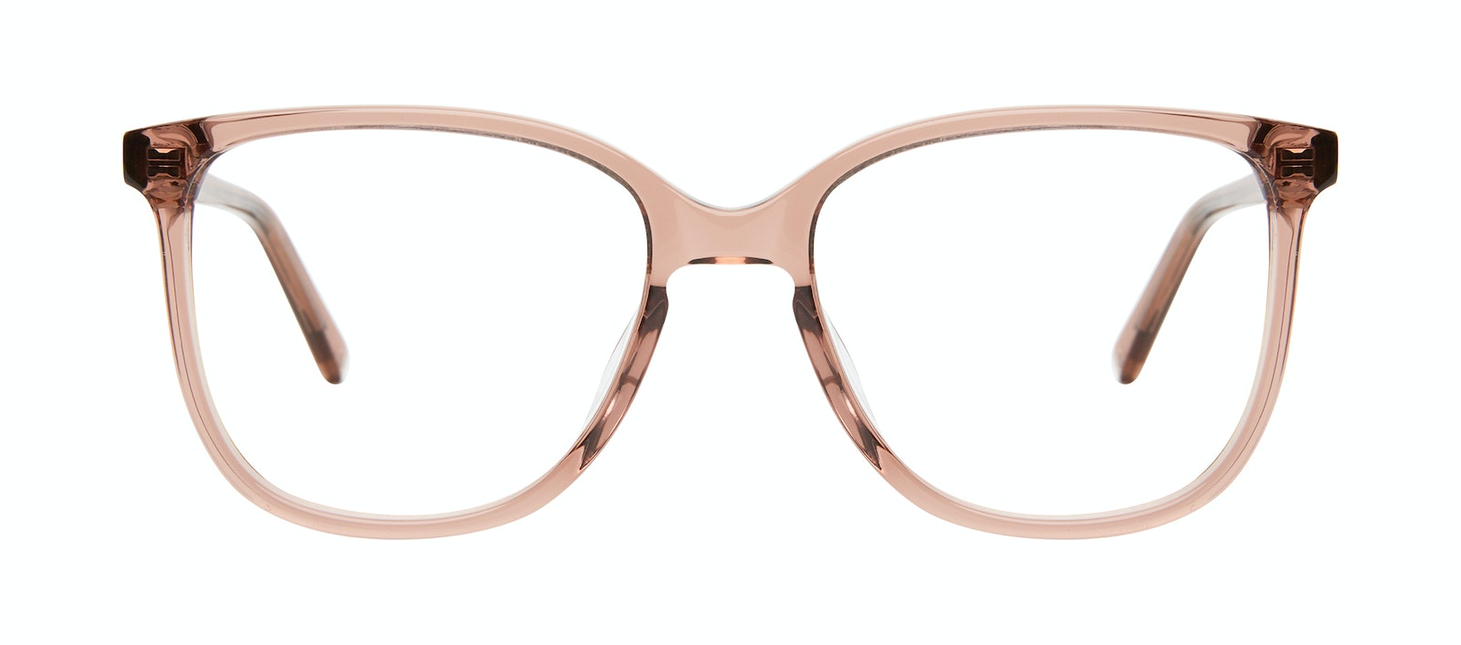 Affordable Fashion Glasses Square Eyeglasses Women Lead Rose Front