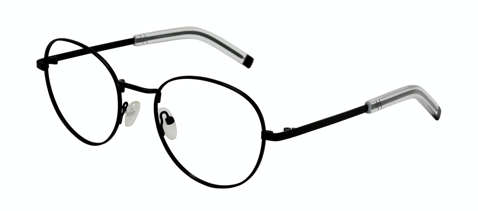 Affordable Fashion Glasses Round Eyeglasses Men Lean L Black Tilt