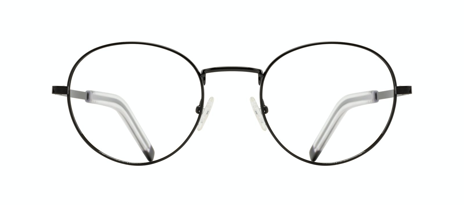 2b6dc6d7bf Affordable Fashion Glasses Round Eyeglasses Men Lean XL Black Front