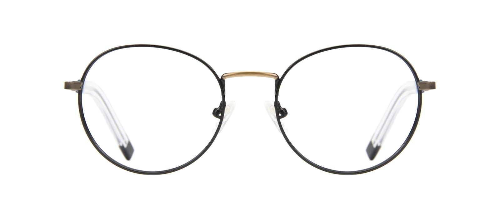 dd91f2f2b4 Affordable Fashion Glasses Round Eyeglasses Men Lean Dark Brass Front