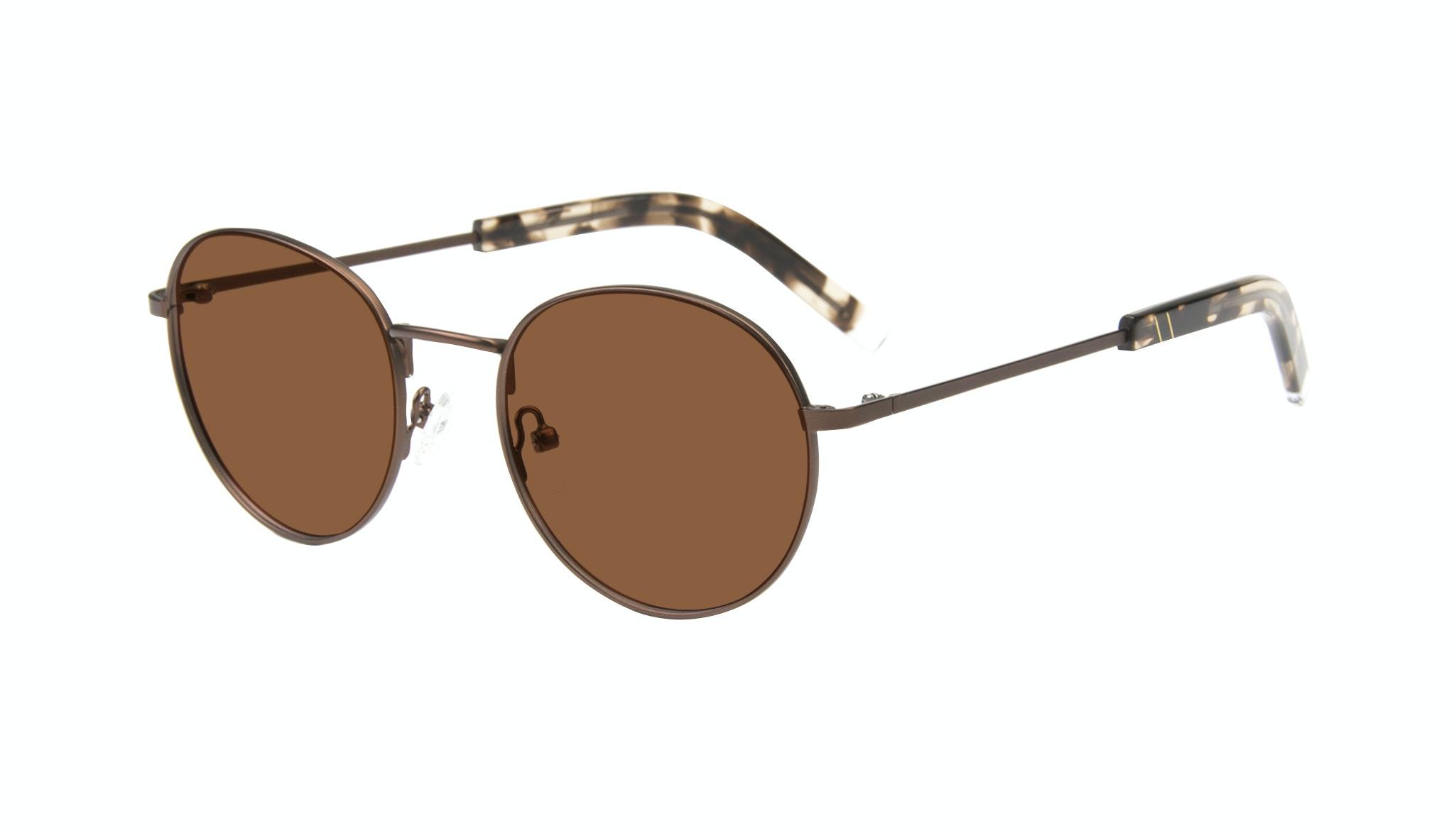 Affordable Fashion Glasses Round Sunglasses Men Lean Mud Tilt