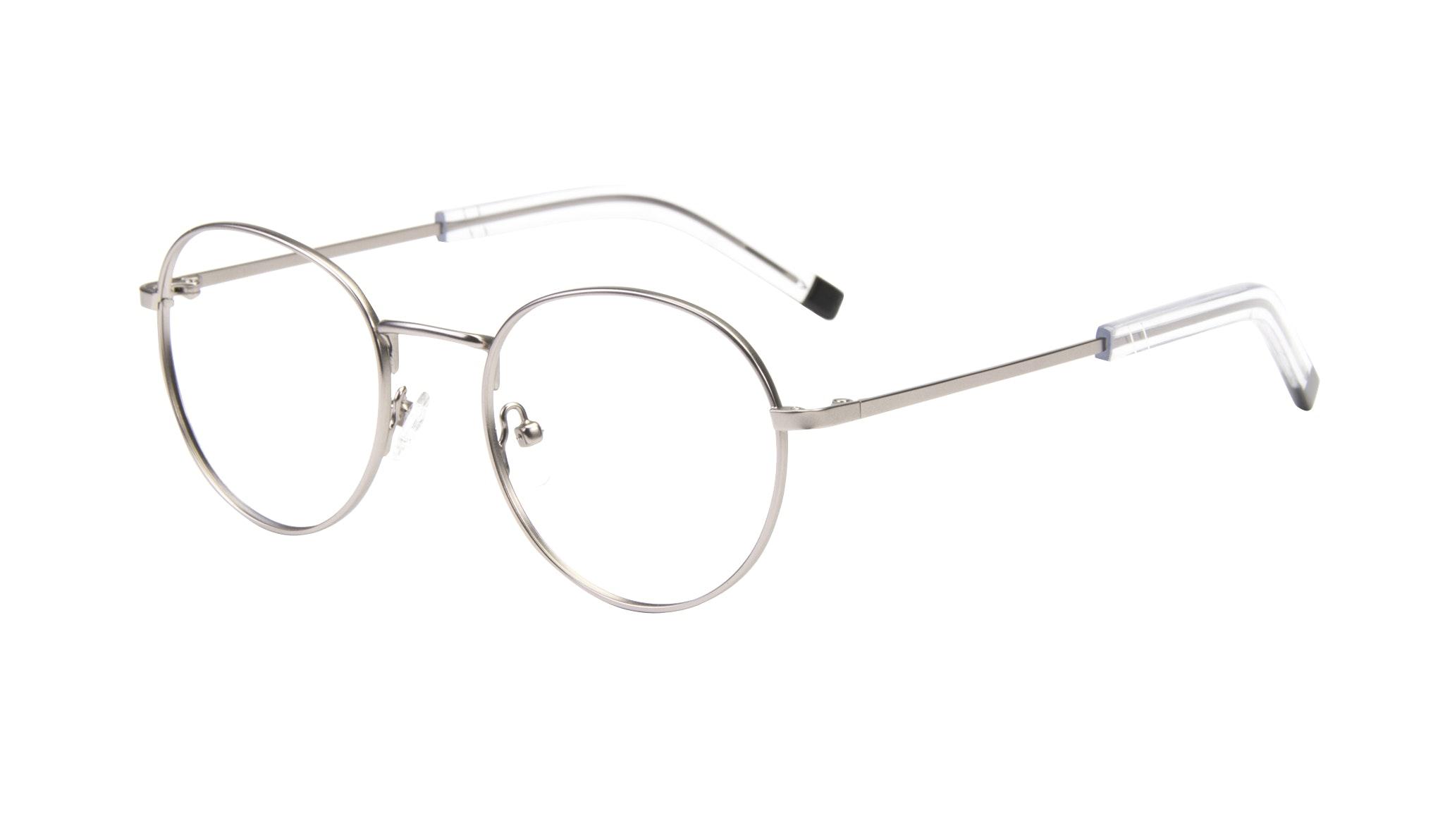 Affordable Fashion Glasses Round Eyeglasses Men Lean Steel Tilt