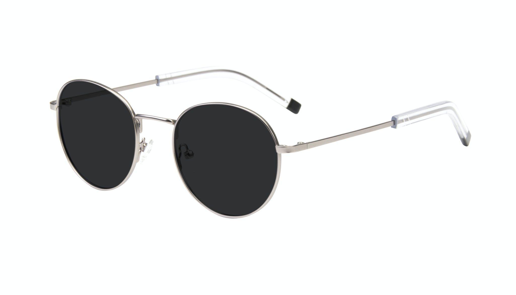Affordable Fashion Glasses Round Sunglasses Men Lean Steel Tilt