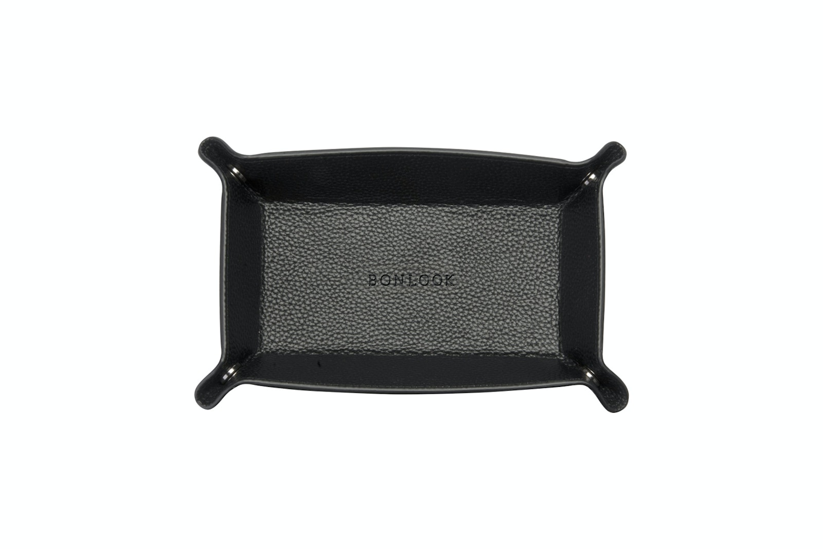 Affordable Fashion Glasses Accessory Men Women Leather Tray Ebony