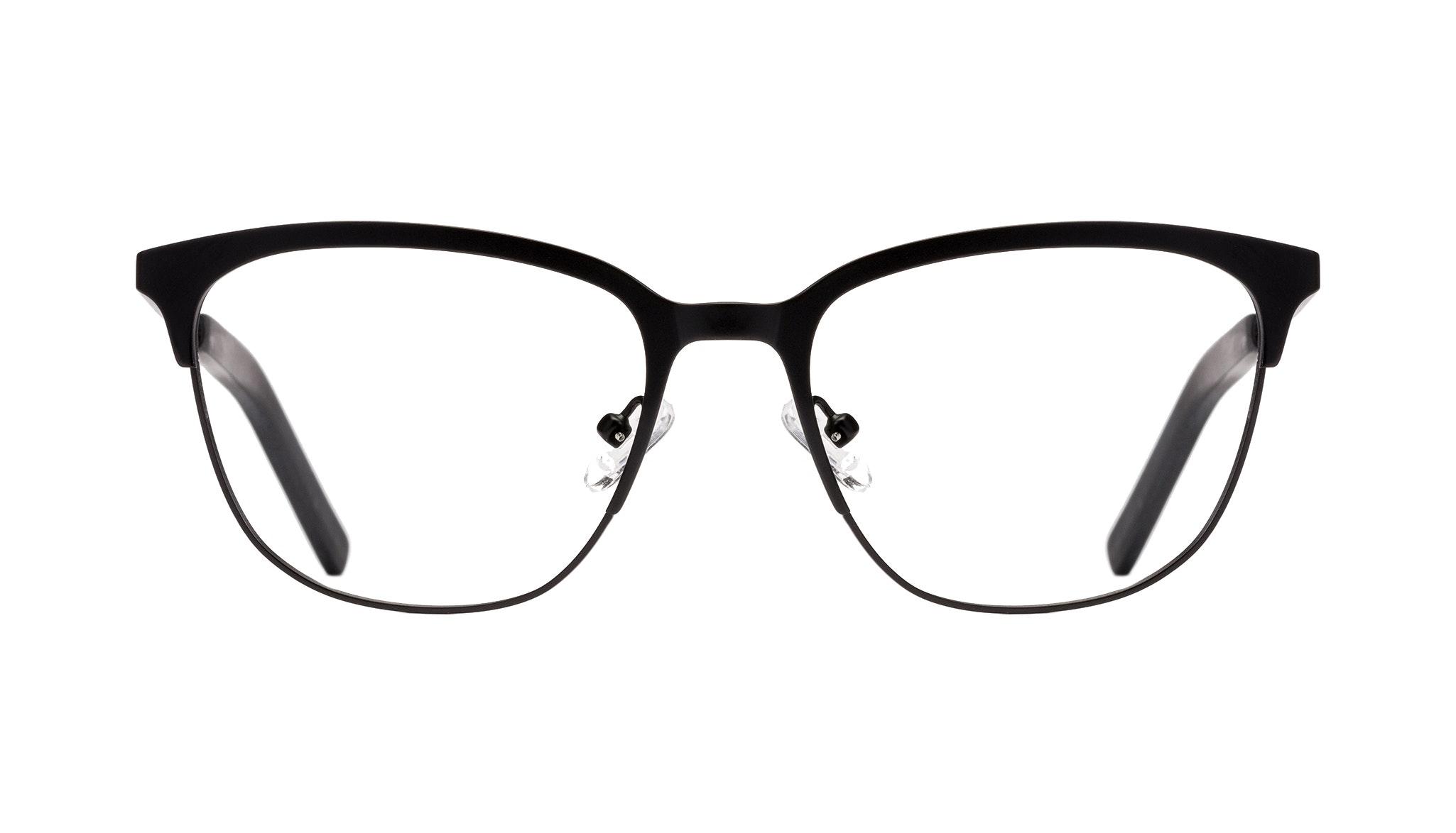 Affordable Fashion Glasses Rectangle Eyeglasses Men Legacy Black Front