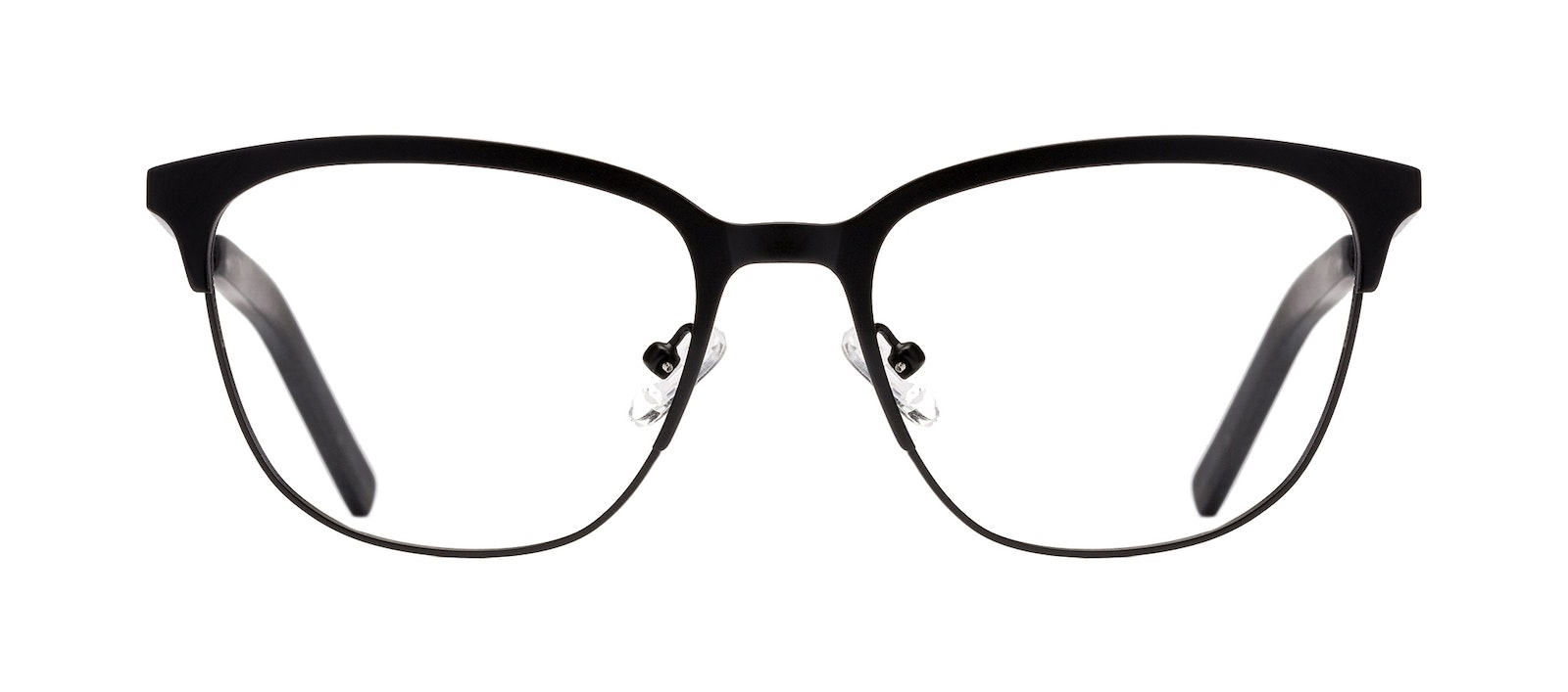 Affordable Fashion Glasses Rectangle Eyeglasses Men Legacy Black Front