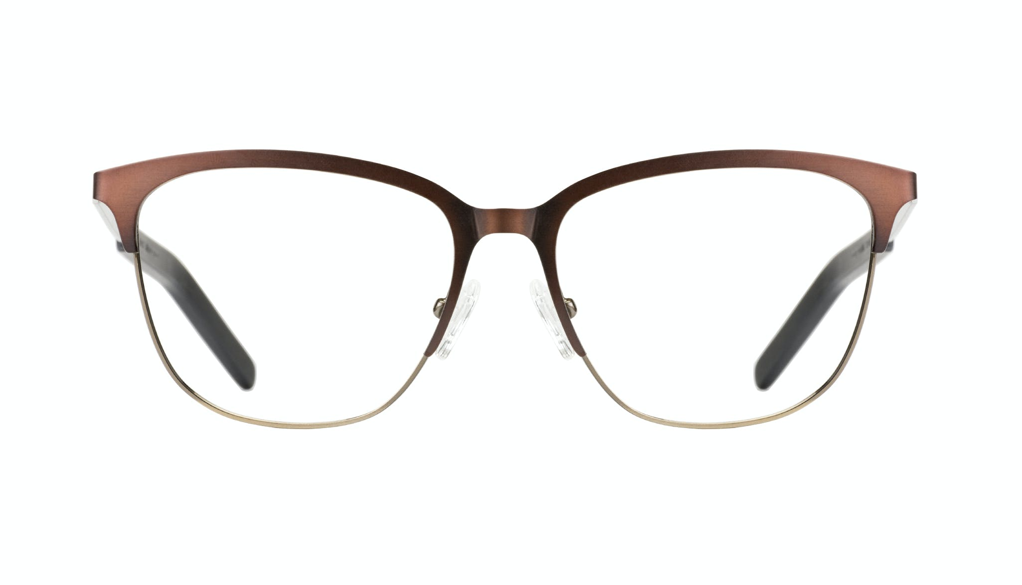 Affordable Fashion Glasses Rectangle Eyeglasses Men Legacy Mud Gold Front