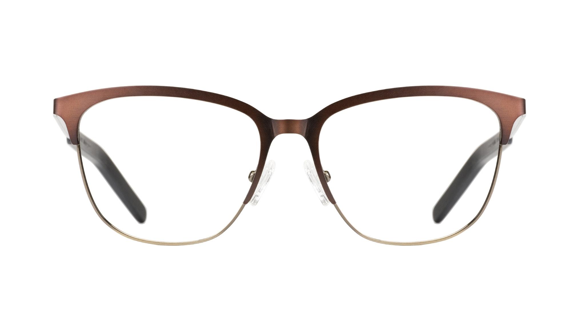 Affordable Fashion Glasses Rectangle Eyeglasses Men Legacy Mud Gold Front