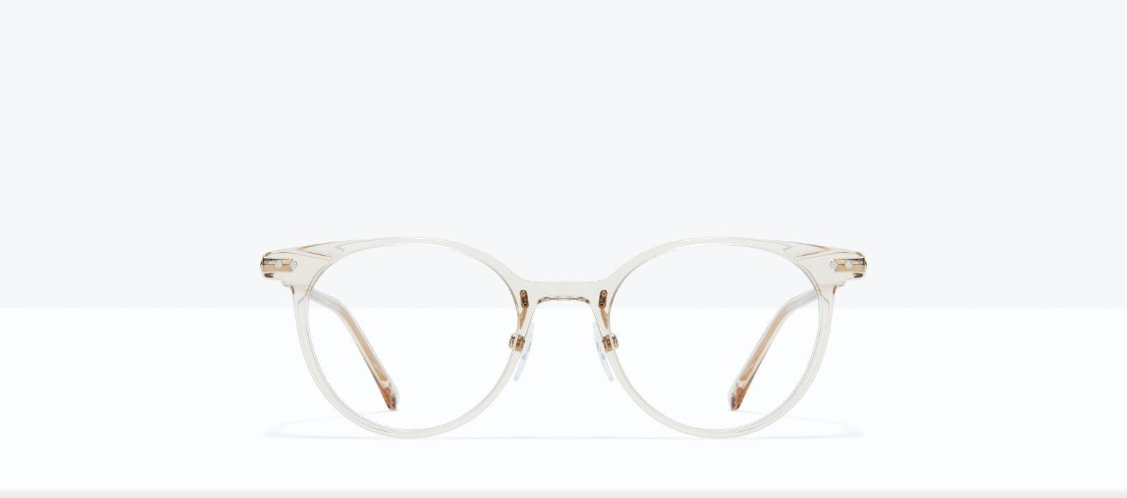 Affordable Fashion Glasses Round Eyeglasses Women Lightheart L Blond Front