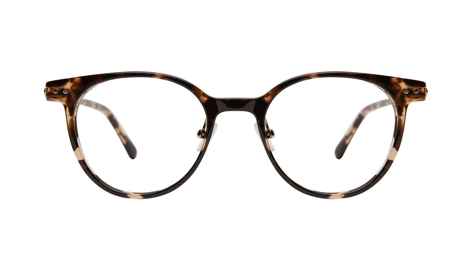 Affordable Fashion Glasses Round Eyeglasses Women Lightheart Leopard