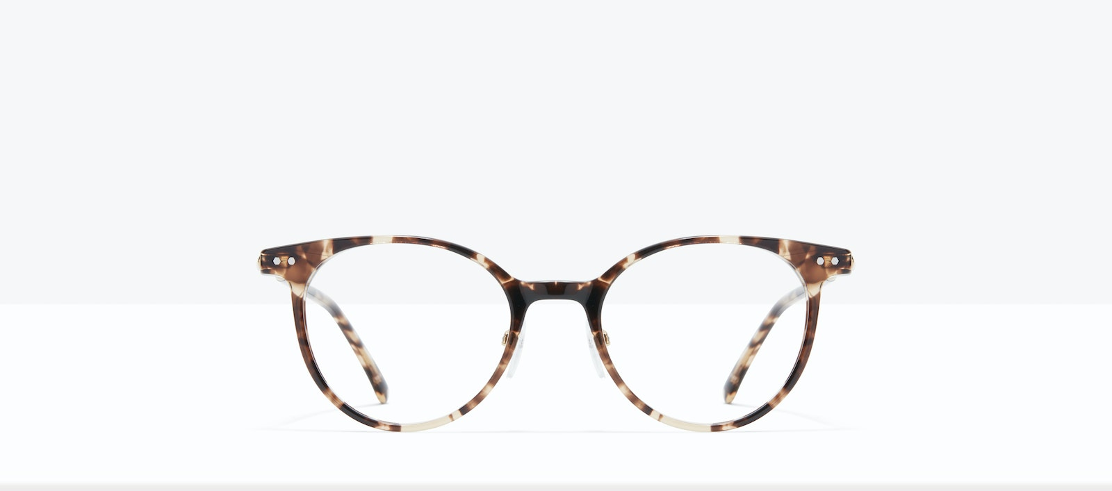 Affordable Fashion Glasses Round Eyeglasses Women Lightheart L Leopard Front